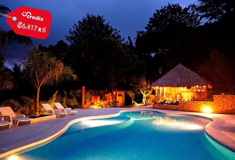 esencia, hotel, villas, santa, teresa, piscina, jardines, flores, playas, sol,