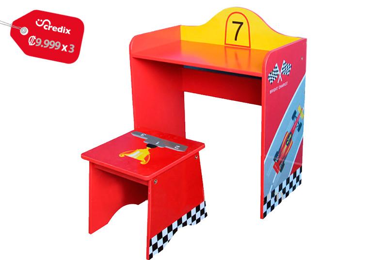 Jugueterías, TOYS, escritorio, carro, madera, pino, chileno, niños, comodidad