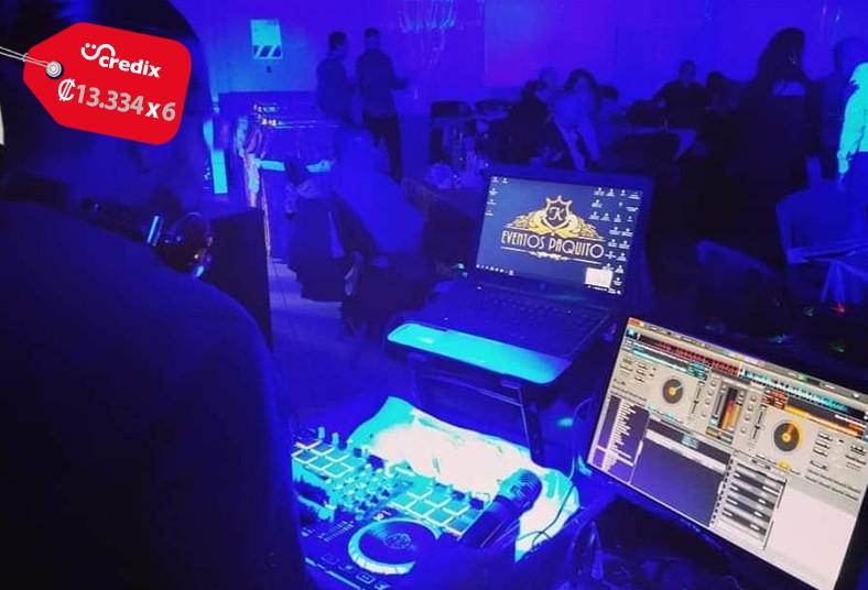 eventos, paquito, sonido, luces, lámparas, neón, animación, música, dj, mezclas
