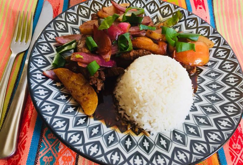 ceviche, peruano, express, entrada, plato, fuerte, ensalada, camarones, lomito