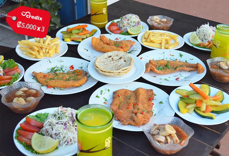 Cevichera, Crustáceo, Cascarudo, filetazos, cascarudos, ensaladas, tortillas,