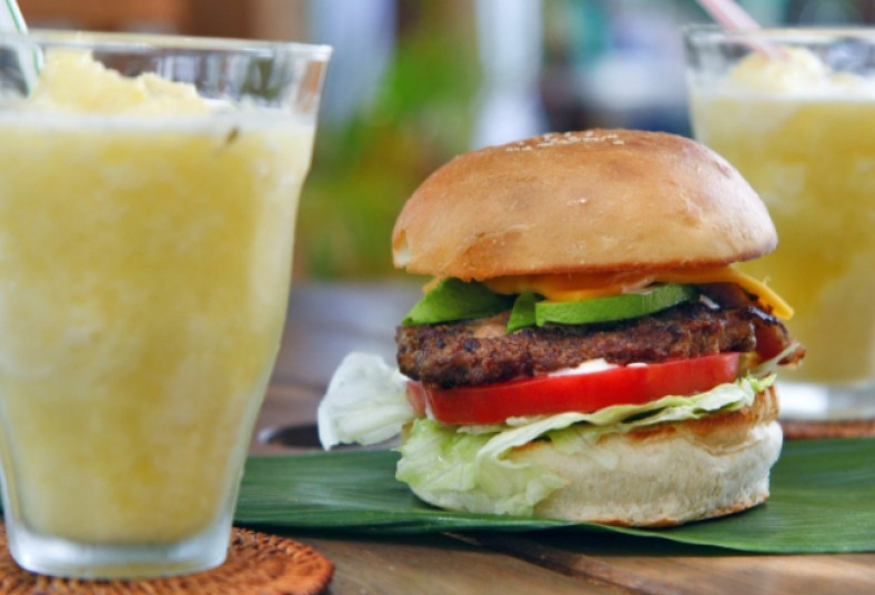 flavors, coffee, hamburguesa, bebida, limonada, cas, maracuyá, carne, queso,