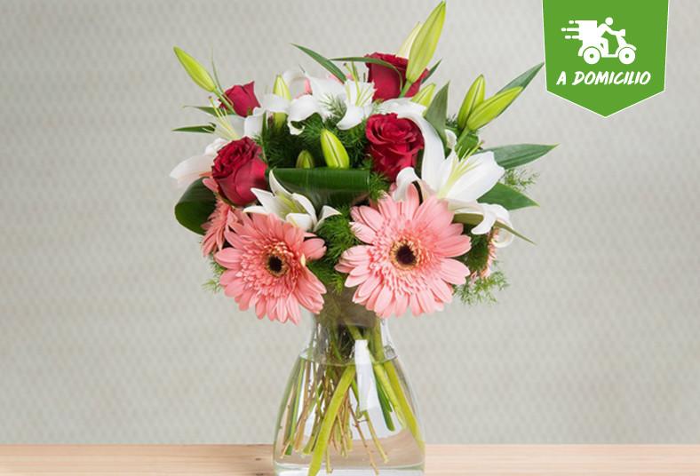 Floristería 2000, arreglo, floral, flores, regalo, rosas, hierberas, lirios,
