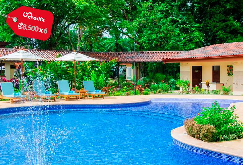 la, foresta, nature, resort, quepos, playa, familia, naturaleza, desayuno, sport
