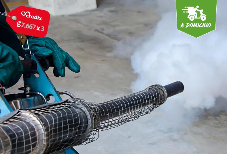 Fumiplag, CR, servicio, desinfección, área, biodegradable, hongos, esporas