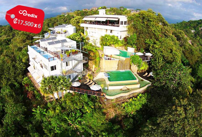 gaia, hotel, reserve, lujoso, servicios, adultos, naturaleza, manuel, antonio,