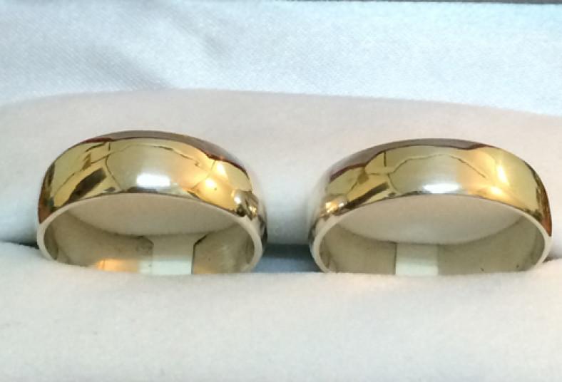 Anillos de matrimonio en oro blanco o amarillo titicupon for Precio rodiar anillo oro blanco