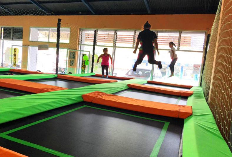 Go&Fun, Costa, Rica, parque, trampolines, hora, mes, niños, adultos, brincar,