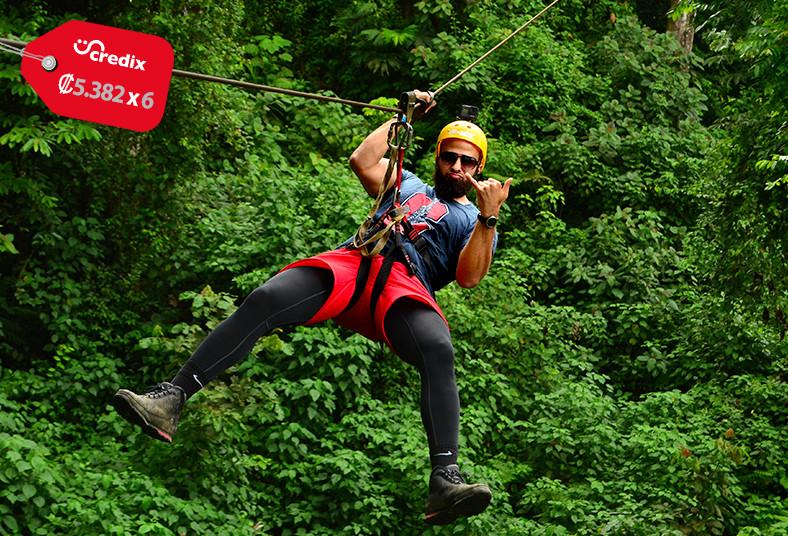 go, adventure, park, canopy, rappel, tubing, rainforest, limo, malekus, piscinas
