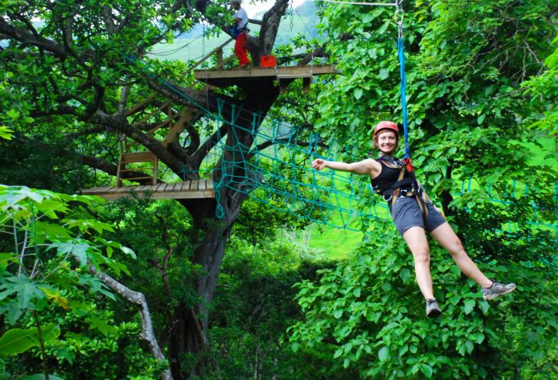 Adventure, Park, Hotel, Vista, Golfo, canopy, senderos, almuerzo, laberinto,