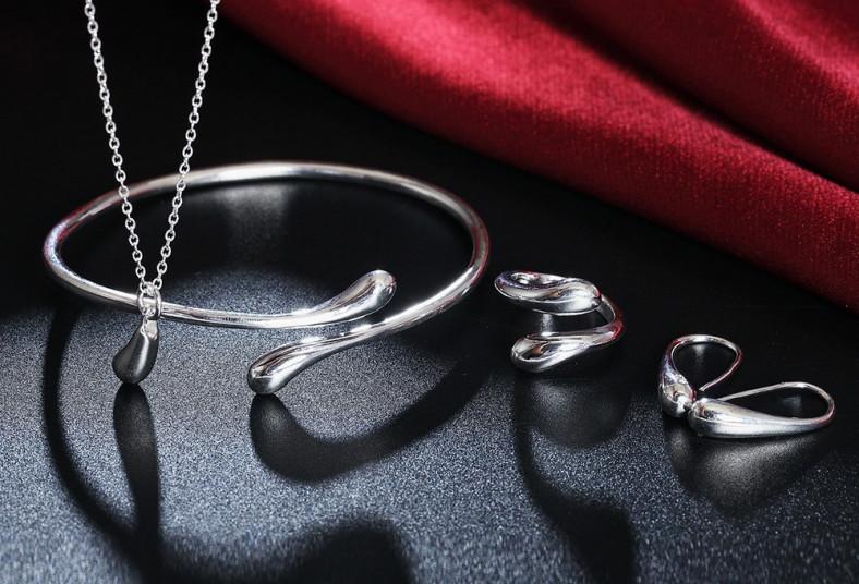 cypris, dije, gota, cadena, aretes, pulsera, anillo, ajustable, día, especial