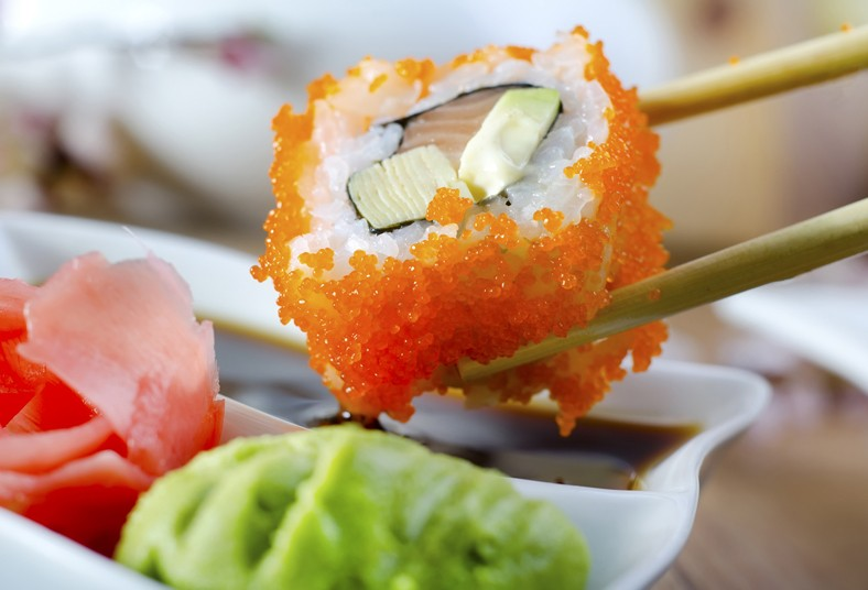 hanabi, sushi, sopa, miso, onigiris, rollo, sushi, takoyaki, puente kobé, caribe