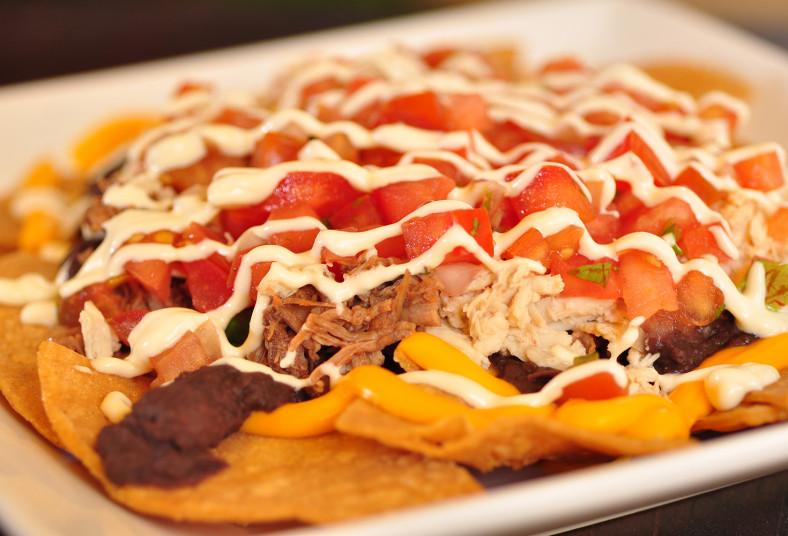 Hookah, Nights, nachos, compartir, tortillitas, pollo, mixtos, carne, lechuga,