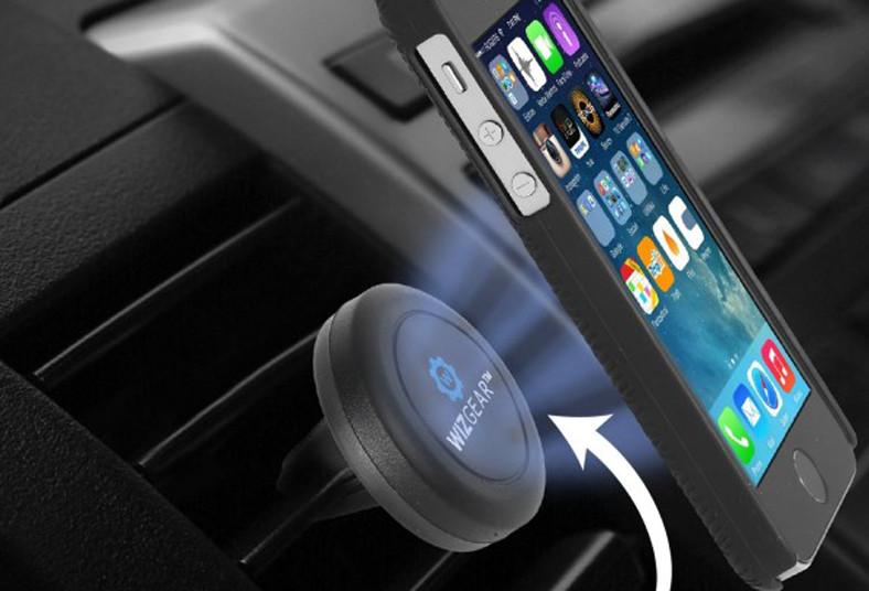 mall, virtual, 360, celular, carro, holder, magnético, manejar, sostener, vista