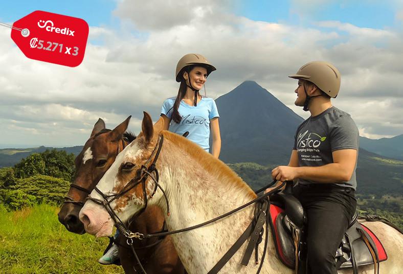 Mistico, Arenal, Hanging, Bridges, Park, pacos, horses, tour, caballo, bosque