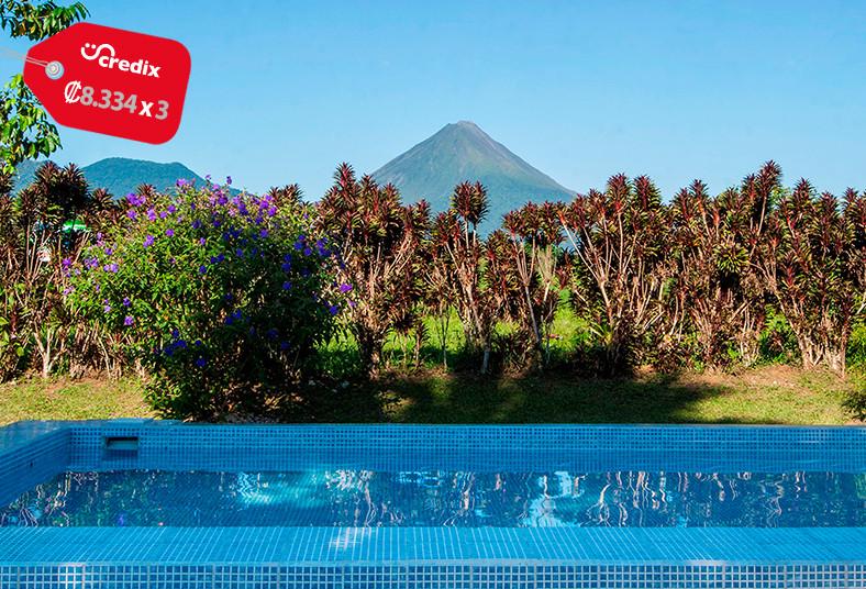 Hotel, Jardines, monteverde, hospedaje, pareja, descanso, naturaleza, desayuno