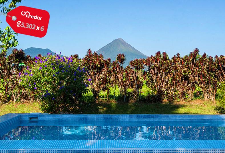 hotel, jardines, arenal, superior, familiar, fortuna, san, carlos, piscina,