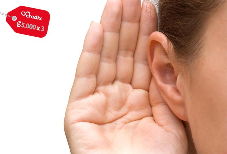 JR, Sánchez, Audiología, examen, audiometría, resultados, pérdida, auditiva,