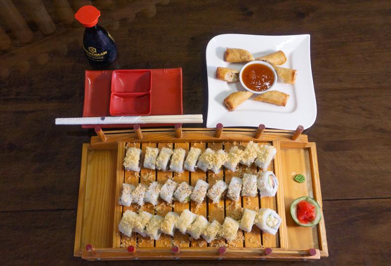 Restaurante, Kabod, sushi, tacos, philadelphia, cheese, crunch, rollos, bebida