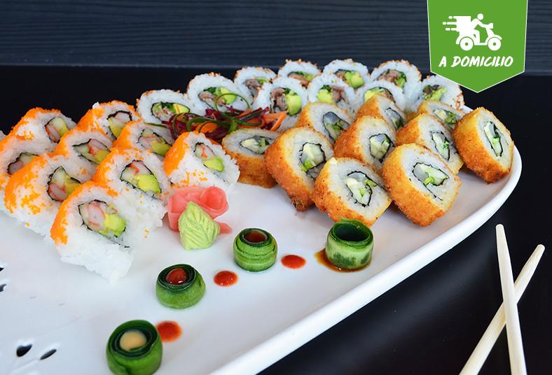 sushi, king, art, tunanachos, california, salmón, panko, especial, wantan, rollo
