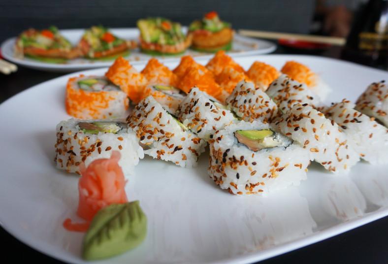 sushi, king, art, sushi, alaska, california, tunanachos, roll, piezas, aguacate,