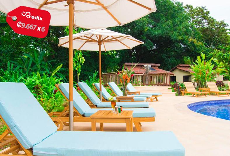 la, foresta, nature, resort, quepos, playa, familia, naturaleza, desayuno, cena