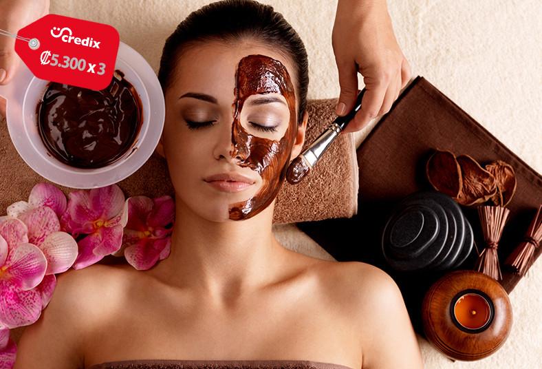 maison, spa, facial, masaje, piedras, calientes, manicure, esmaltado, piel, pies
