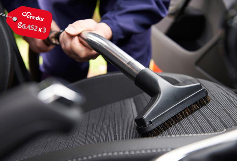 lavado, extremo, auto, limpieza, tapicería, techo, carro, asientos, alfombra