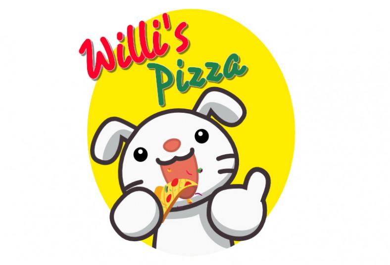 Willi's, Pizza, tamaño, grande, ingredientes, hongos, jamón, piña, carne, molida