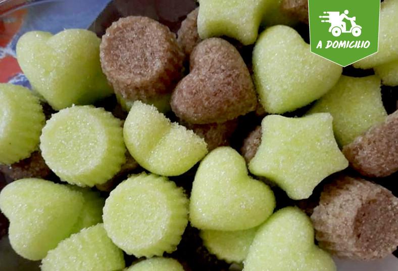 lovely, day, corazón, terrones, azúcar, figuras, geométricas, comestible, café,