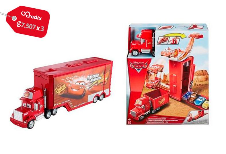Jugueterías, TOYS, cars, mack, torre, salto, niños, juguete, diversión, camión