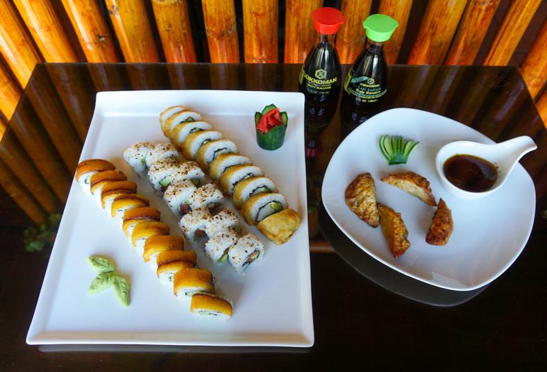 Restaurante, Makizu, tempura, philadelphia, tico, rollos, gyosas, mixtas, fritas
