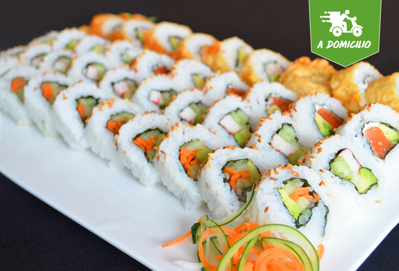 Restaurante, Makizu, tico, nevado, crunch, tempura, tuna, vegano, philadelphia