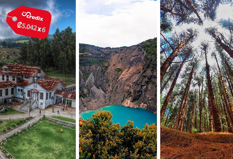 mapea, tours, volcán, irazú, sanatorio, durán, bosque, prusia, transporte, snack