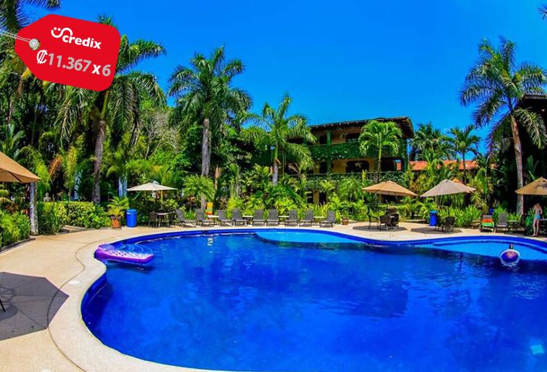 hotel, marea, brava, condominio, equipado, familia, playa, jacó, diversión, mar