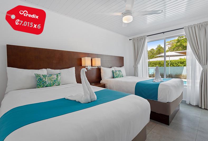 hotel, marino, ballena, uvita, playa, pareja, desayuno, mamífero, junior, suite,
