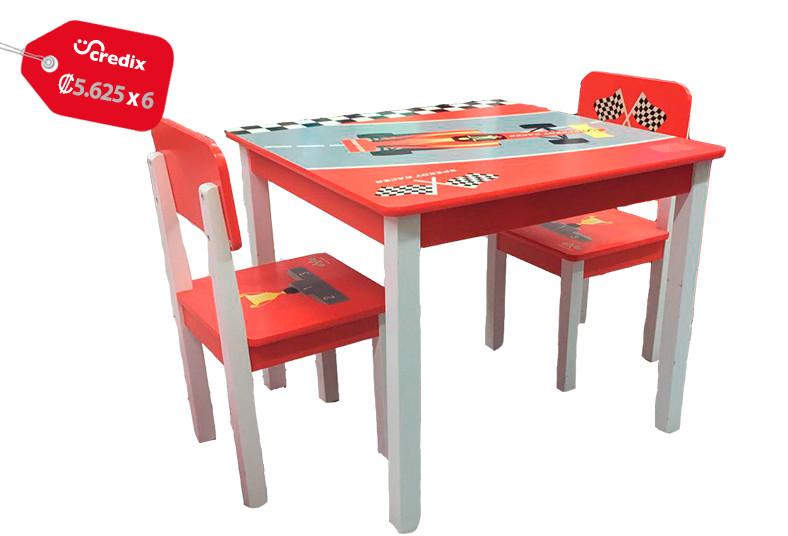 Jugueterías, TOYS, mesa, sillas, carro, madera, pino, chileno, estudiar, orden