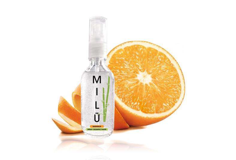 MILÜ, Spray, lavanda, menta, naranja, alcoholes, gel, aromas, coronavirus