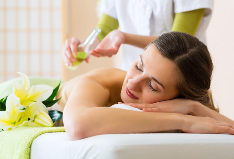 clínica, salud, movimiento, pack, belleza, relajación, masaje, facial, compresas