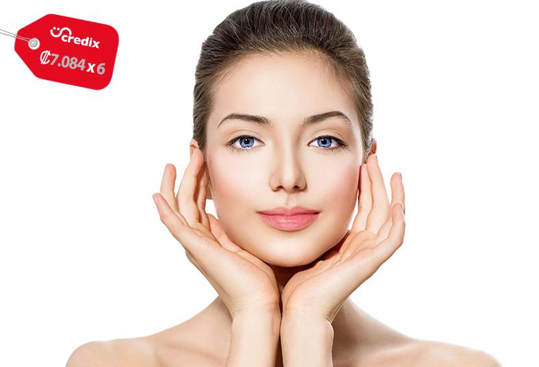 clínica, nouvelle, sesión, láser, qswitch, aclarar, piel, rostro, axilas, salud
