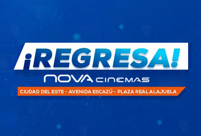 nova, cinemas, palomitas, refrescos, gaseosos, cine, desinfección, familia,