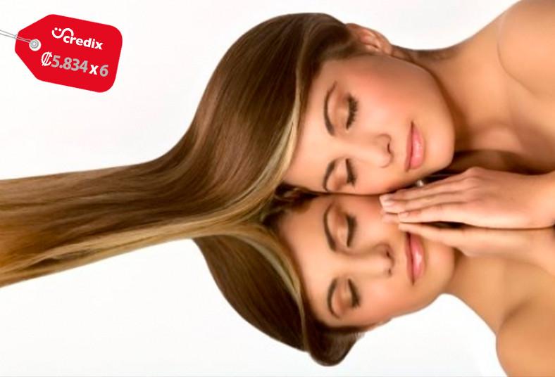 nv, salón, cirugía, capilar, reconstructiva, cabello, largo, brillo, intenso,
