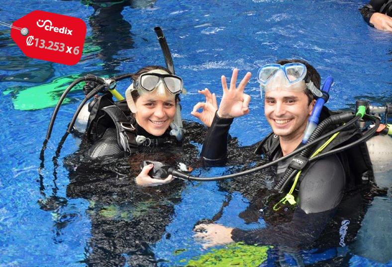 Oceánica, Divers, curso, buceo, padi, discover, scuba, diving, piscina, teoría,