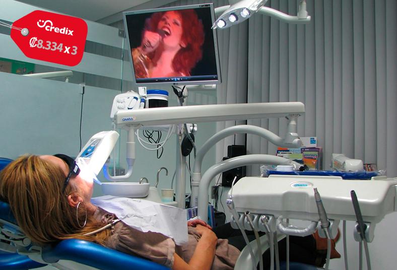 clínica, médica, oeste, blanqueamiento, led, salud, cámara, intraoral, dientes