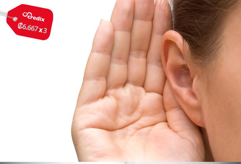 clínica, oirá, otoscopia, audiometría, pérdida, auditiva, umbral, tímpano, grado
