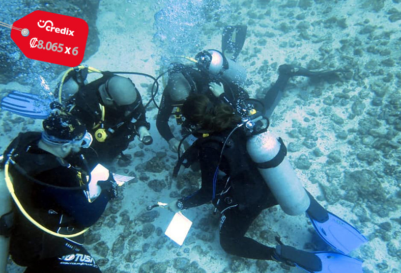 Pacific, Blue, Divers, clase, teórica, práctica, buceo, discover, scuba, diving