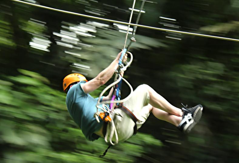 Parque, Vista, Arenal, canopy, adrenalida, naturaleza, cables, descenso,