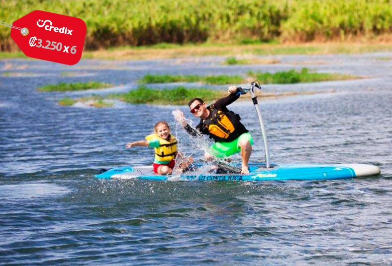 Pedal, Board, Costa, Rica, tour, guía, transporte, agua, refrigerio, chaleco,