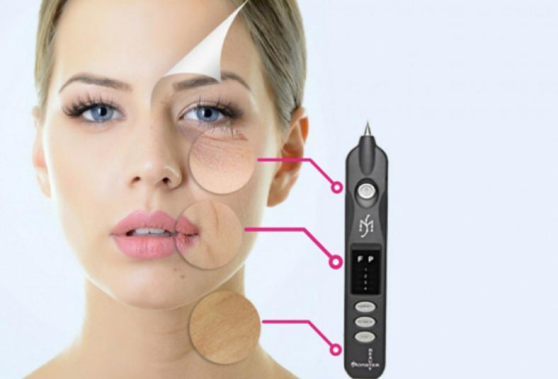 centro, estetico, copresco, plasma, pen, línea, expresión, manchas, piel, sana