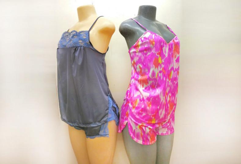 Descans c moda y sentite sexy con un pijama de short a for Distribuidora ropa interior